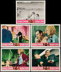 "Movie Posters:James Bond, Goldfinger/Dr. No Combo (United Artists, R-1966). Lobby Cards (5) (11"" X 14""). James Bond.. ..."