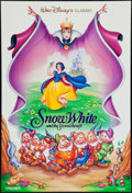 "Movie Posters:Animation, Snow White and the Seven Dwarfs (Buena Vista, R-1993). One Sheet (27"" X 40""). Animation.. ..."