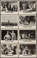 """Movie Posters:Drama, The Miracle Worker (United Artists, 1962). Lobby Card Set of 8 (11"""" X 14""""). Drama.. ... (Total: 8 Items)"""