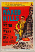 """Movie Posters:Western, The Naked Hills (Allied Artists, 1956). One Sheet (27"""" X 41""""). Western.. ..."""