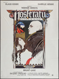 "Nosferatu the Vampyre (Gaumont, 1979). French Grande (47"" X 63""). Horror"