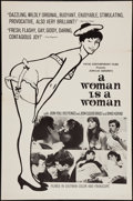 """Movie Posters:Comedy, A Woman is a Woman (Pathe Contemporary Films, 1964). One Sheet (27"""" X 41""""). Comedy.. ..."""