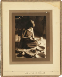 DECORATING POTTERY BY EDWARD S. CURTIS