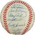 Autographs:Baseballs, 1986 New York Mets Team Signed Baseball....