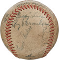 Autographs:Baseballs, 1939 Louisville Colonels Team Signed Baseball with Pee WeeReese....
