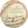 Autographs:Baseballs, 1941 St. Louis Cardinals Team Signed Baseball....