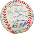 Autographs:Baseballs, 1967 St. Louis Cardinals Team Signed Baseball....