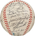 Autographs:Baseballs, 1963 National League All-Star Team Signed Baseball, PSA/DNA NM 7....