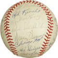 Autographs:Baseballs, 1962 New York Mets Team Signed Baseball....