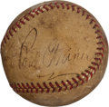 Autographs:Baseballs, 1938-39 Pittsburgh Pirates Partial Team Signed Baseball....