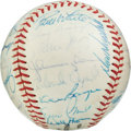 Autographs:Baseballs, 1959 National League All-Star Team Signed Baseball....