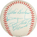 Autographs:Baseballs, 1971-72 Pittsburgh Pirates Partial Team Signed Baseball withClemente....