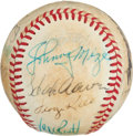 Autographs:Baseballs, Circa 1980 Batting Champs Multi-Signed Baseball....