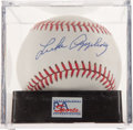Baseball Collectibles:Balls, Luke Appling Single Signed Baseball, PSA Mint 9....