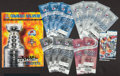 Hockey Collectibles:Others, 1996-01 Colorado Avalanche Ticket Collection and Program. ...