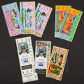 Miscellaneous Collectibles:General, 1964-93 Indy 500 Ticket - Lot of 8. ...