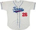 Baseball Collectibles:Uniforms, 2006-08 Minor League Game Worn Jersey - Lot of 4 One Signed. ...