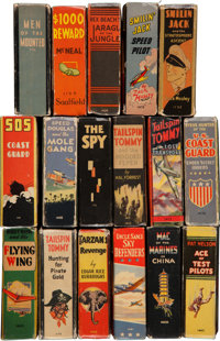 Big Little Book Group (Whitman, 1930s-40s) Condition: Average VG-.... (Total: 17 Comic Books)