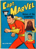 Big Little Book:Superhero, Big Little Book #nn Captain Marvel Dime Action Book (Fawcett, 1941)Condition: FN+....
