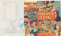 """Golden Age (1938-1955):Miscellaneous, Harvey """"Votes Are Vital"""" File Copies Group (Harvey, 1950s) Condition: Average VF/NM.... (Total: 9 Comic Books)"""
