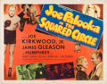 Memorabilia:Poster, Joe Palooka in the Squared Circle Movie Poster (Monogram,1950)....