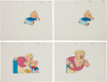 Animation Art:Limited Edition Cel, Porky Pig Production Cel Animation Art Group (undated)....(Total: 37 Original Art)