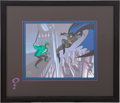 """Memorabilia:Superhero, Batman: the Animated Series """"The Mark of a Question"""" Limited Edition Animation Cel Print #250/500 (Warner Brothers, 19..."""