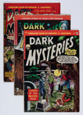 Golden Age (1938-1955):Horror, Dark Mysteries #5, 16, and 21 Group (Master Publications,1951-55).... (Total: 3 Comic Books)