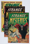 Golden Age (1938-1955):Horror, Strange Mysteries #3, 12, and 17 Group (Superior, 1952-57).... (Total: 3 Comic Books)