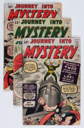 Golden Age (1938-1955):Horror, Journey Into Mystery Group (Marvel, 1962-64) Condition: AverageFR/GD.... (Total: 4 Comic Books)