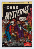 Golden Age (1938-1955):Horror, Dark Mysteries #20 (Master Publications, 1954) Condition: FN+....