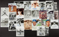 Autographs:Photos, Dodgers Signed Photograph Collection Of 25....