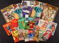 Football Collectibles:Publications, 1930's to 1960's Vintage Football Publications And Ticket Lot Of 20. ...