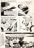 Original Comic Art:Panel Pages, Russ Manning Magnus Robot Fighter #2 Mekman Plot Page 12Original Art (Gold Key, 1963)....