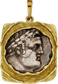 Estate Jewelry:Coin Jewelry and Suites, Ancient Coin, Gold Pendant. ...