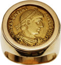 Estate Jewelry:Rings, Gentleman's Gold Coin, Gold Ring. ...