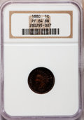 Proof Indian Cents: , 1880 1C PR64 Brown NGC. NGC Census: (58/62). PCGS Population(22/19). Mintage: 3,955. Numismedia Wsl. Price for problem fre...