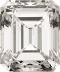 Estate Jewelry:Unmounted Diamonds, Unmounted Emerald-cut Diamond, Type IIa. ...