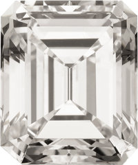 Unmounted Emerald-cut Diamond, Type IIa