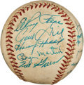 Autographs:Baseballs, Circa 1960 Pittsburgh Pirates Signed Baseball with Clemente....