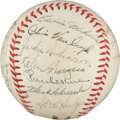 Autographs:Baseballs, 1951 Brooklyn Dodgers Team Signed Baseball....