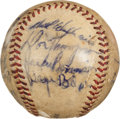 Autographs:Baseballs, 1953 Brooklyn Dodgers & Pittsburgh Pirates Signed Baseball....