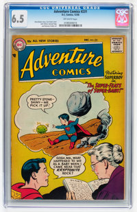 Adventure Comics #231 (DC, 1956) CGC FN+ 6.5 Off-white pages