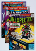 Silver Age (1956-1969):Horror, Unexpected Group (DC, 1966-69) Condition: Average VF.... (Total: 10Comic Books)