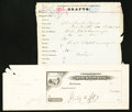 Obsoletes By State:Arkansas, Fort Smith, AR- Merchants Bank Proof Check 188_.. ... (Total: 2 items)