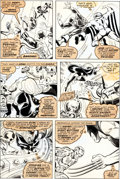 Original Comic Art:Panel Pages, Bob Brown and Tom Sutton X-Men #106 Page 14 Original Art(Marvel, 1977)....