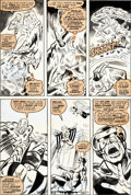 Original Comic Art:Panel Pages, Bob Brown and Tom Sutton X-Men #106 Page 15 Original Art(Marvel, 1977)....