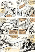 Original Comic Art:Panel Pages, Bob Brown and Tom Sutton X-Men #106 Page 17 Original Art(Marvel, 1977)....