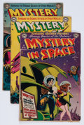 Golden Age (1938-1955):Science Fiction, Mystery in Space Group (DC, 1951-59) Condition: Average GD....(Total: 12 Comic Books)