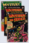 Golden Age (1938-1955):Science Fiction, Mystery in Space Group (DC, 1951-57) Condition: Average FR....(Total: 7 Comic Books)